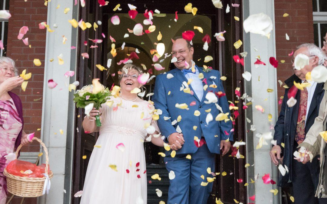 Hochzeitsfotografie Berlin im Regen