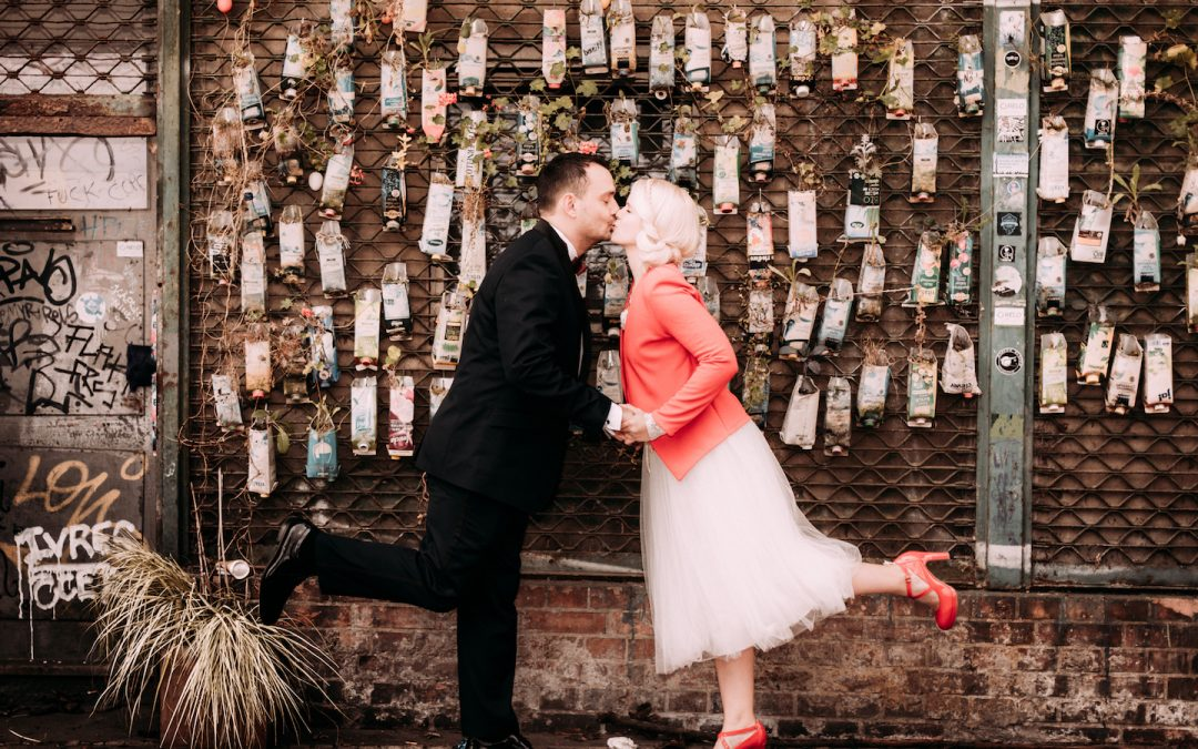 Hochzeitsfotografie Berlin als einziger Gast