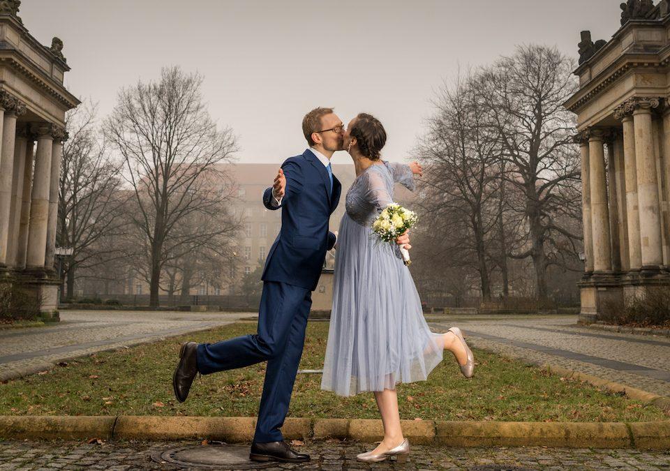 Zwei geballte Stunden Hochzeitsfotografie Berlin