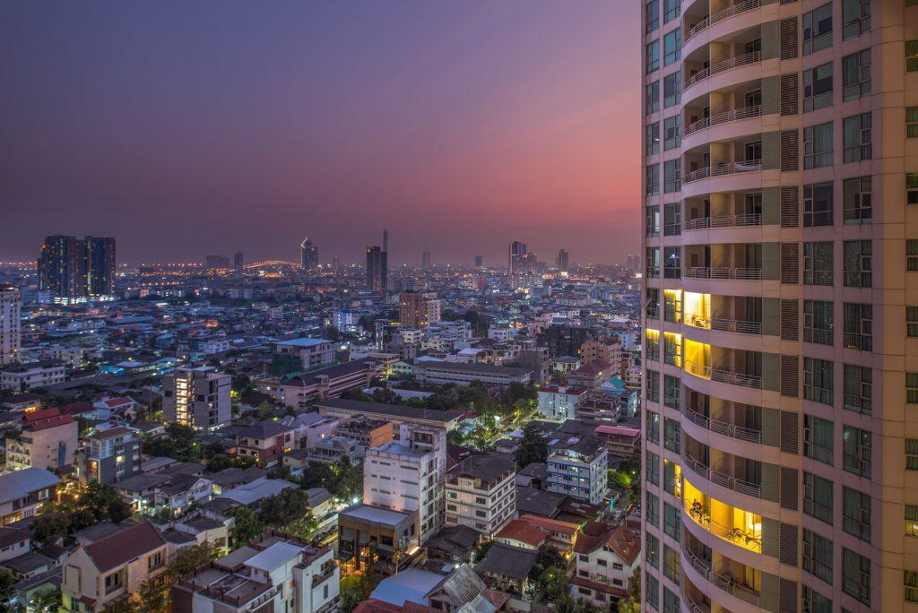 Hochzeitsfotografie berlin immobilienfotografen-berlin Thailand bangkok Anantara Sathorn Hotel sunset city