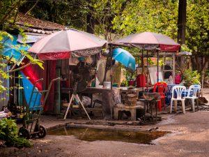 Bangkok Thailand street travel